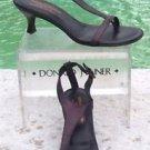Donald Pliner COUTURE $295 VINO METALLIC LEATHER Shoe NIB 6 T ANKLE STRAP VIANA
