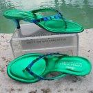 Donald Pliner $245 COUTURE METALLIC LEATHER Shoe Sandal NIB CRYSTALS FLEX 7