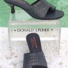 Donald Pliner COUTURE $285 METALLIC KOGI GATOR LEATHER Shoe NIB 6 TOE RING