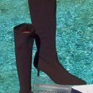 Donald Pliner $350 COUTURE EXPRESO CREPE ELASTIC STRETCH LEATHER Boot Shoe NIB 6