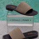 Donald Pliner $225  ELASTIC  LEATHER  Shoe Sandal NIB  COMFORT  PRACTICAL 7