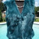 Cache $168 FLUFFY Chubby Faux FUR VEST Top NWT XS/S  Lined Delicious SEXY