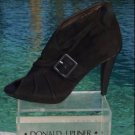 Donald Pliner $445 COUTURE SUEDE LEATHER Boot Shoe Pump NIB OPEN-TOE PLATFORM