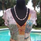 Cache $98 MESH ZEN DRAGONFLY EMPIRE BUST Top NWT XS/S/M STRETCH WEAR ALL YEAR