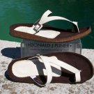 Donald Pliner $200 PATENT LEATHER Shoe NIB FLEX CORK GEL SOLE FOOT BED 6 10