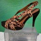Donald Pliner $345 COUTURE HAIR CALF LEATHER Shoe NIB 6.5 8 SLINGBACK Suede