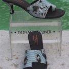 Donald Pliner COUTURE $315 PYTHON PATENT LEATHER Shoe NIB TOE RING SANDAL 7