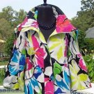 Cache LUXE $168 LINED SWING JACKET EVENT Top NWT S/M/L JACKIE-O DRAWSTRING