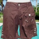 Cache $78 CARGO SHORT ROLL-UP ADJUSTABLE LENGTH Pant NWT 4/6 S