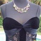 Cache $128 VELVET SHEER ILLUSION LACE Top Cami NWT 2/4/6 XS/S LINED SEQUINS BRA