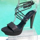 Donald Pliner COUTURE LEATHER $395 PLATFORM Shoe NIB SWAROVSKI CRYSTALS SIGNATUR