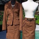 Cache $98 THIN CORD Lined Skirt NWT 0/2/4/6/8/10/12 SUIT BUSINESS OFFICE EVENT