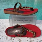 Donald Pliner $215 COUTURE HAIR CALF LEATHER Shoe NIB SUEDE FOOT BED FLEX SOLE 6