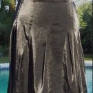 Cache LUXE $168 PLEATED METALLIC SHEEN Skirt NWT S/M/L/XL EVENT OFFICE