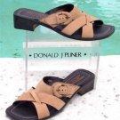 Donald Pliner $235 COUTURE LEATHER Shoe Sandal NIB COMFORT PRACTICAL SIGNATURE