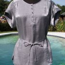 Cache $108 METALLIC RHINESTONE BUTTONS Top NWT XS/S/M/L/XL REMOVABLE SELF BELT