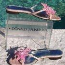 Donald Pliner $250 COUTURE KOGI GATOR LEATHER Shoe NIB 6 RHINESTONE BEAD