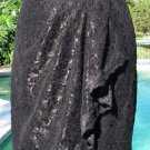Cache $138 LACE FAUX WRAP RUCHED Skirt NWT 8/10/12/14 SELF-BELT Lined