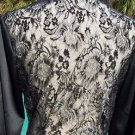 Cache LUXE $158 LACE BACK RHINESTONE BUTTONS Top NWT 0/2/4 XS SATIN BODY