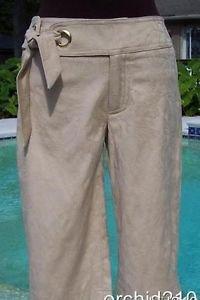 Cache $88 SELF-BELT WALKING  BERMUDA CITY Short Pant NWT 0/2/4/6/8/10/12 STRETCH