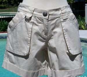 Cache $78 STRETCH SAFARI Short Pant NWT XS/S 0/2/4 WEAR ALL YEAR