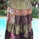 Cache $158 SATIN VELVET EVENT Skirt NWT 4/6/8/10/12/14 DELICIOUS TEXTURE BOHO