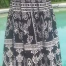 Cache $98 COTTON LINED BOHO HIPPIE Skirt NWT XS/S/M/L ELASTIC WAIST STRETCH