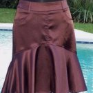Cache LUXE $138 TULIP METALLIC SHEEN EVENT Skirt NWT S/M/L/XL DAY OFFICE