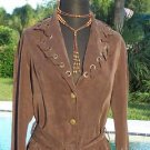 Cache $138 WHIP STITCH REMOVABLE SELF-BELT Jacket Top NWT 0/2/4 XS/S STRETCH