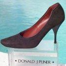 Donald Pliner  $255 COUTURE SUEDE LEATHER Shoe NIB PUMP ESPRESSO BROWN 7 10