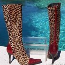Donald Pliner $795 COUTURE PEACE GATOR LEATHER Boot Shoe NIB 6 HAIR CALF NEW