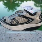 Rocker RX Black Silver NIB 8-8.5 EU 39 STRENGTH FITNESS Shoe Skechers Shape Up