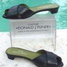 Donald Pliner $225 COUTURE SLIDE SANDAL LEATHER Shoe NIB  7 FLAT SIGNATURE