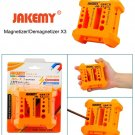 JAKEMY JM-X3 Magnetizer/Demagnetizer with Screwdriver Holes, Size: Large