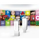 Free Ship NYO Series 2 in 1 16GB Rotation Type Micro USB & USB 3.0 Flash Disk for Smart Phone, PC