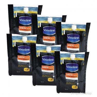 6x7g Vaseline MEN face Antispot Whitening Total Fairness Serum Spf 30 PA+++