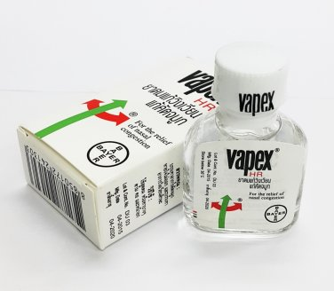 3x5ml Vapex HR for the Relief of nasal congestion Inhalant Oil Free Shipping