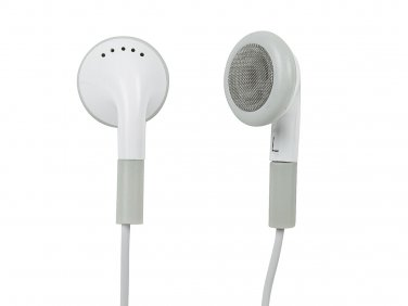 Premium Earphones w/ Mic for iPhone®, iPod®, all iPad®, Smartphones, and more