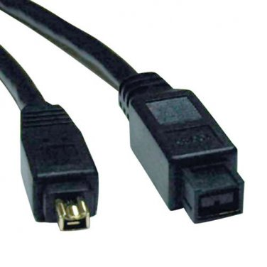 Tripp Lite FireWire 800 IEEE 1394b Hi-speed Cable (9pin/4pin) 6-ft.(F019-006)