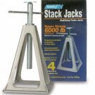 Camco 44560 Olympian RV Aluminum Stack Jack Stand 6000lb - 4 pack - 2DayShip