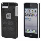 Industrial Metal Mesh Guard Case for iPhone 5/5s - Black