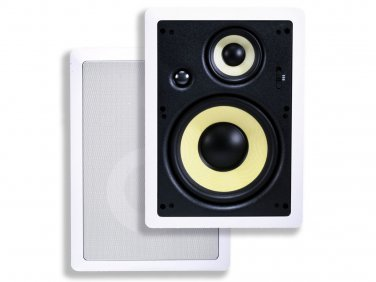 "8"" Kevlar 3-Way In-Wall Speaker (Pair) - 200W Max"
