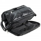 Caseling PU Crocodile Leather Toiletry Bag Travel Case kit with multiple pockets