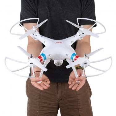 Syma X8W RC QUADCOPTER DRONE Wifi FPV 2.4G 6 Axis 4CH 2.0MP Camera RTF White
