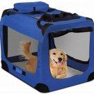 Blue Pet Soft Cloth Crate - XL