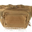 Outdoor Tactical Single Shoulder Messenger Waist Bag