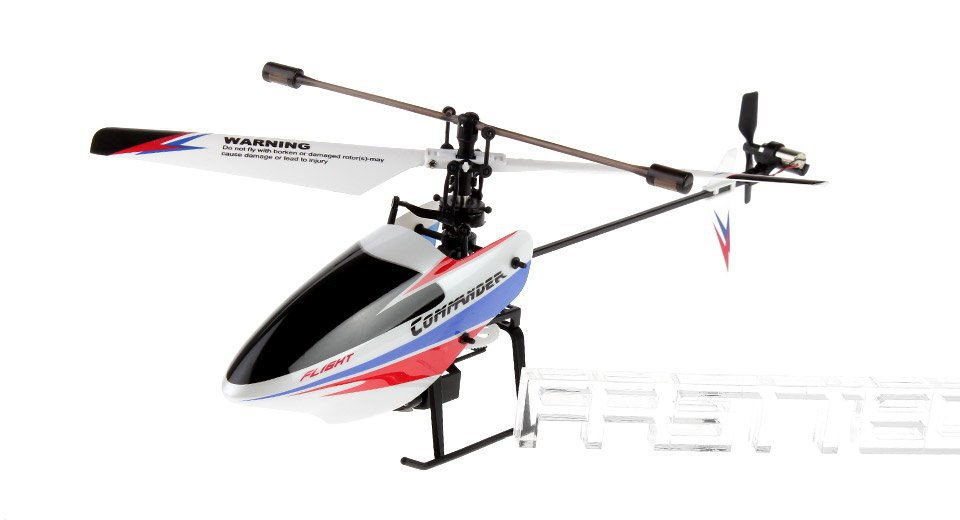 Authentic WLtoys V911-1 4CH 2.4GHz Remote Control R/C Helicopter - 2988700