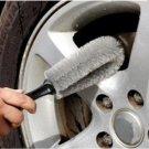Car Wheel Rim Cleaning Brush grey