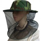 Unisex Outdoor Beekeeping / Fishing Cap / Hat camo green