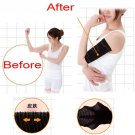 A pair of Slimming Arm Shaper Fat Burning for Woman-Black 18063